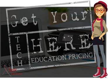Get your tech here, education pricing